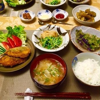 我が家の家庭料理/和食