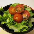 セロリの葉入りグリーンサラダ