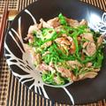 ピーマン即売。野菜も激うま胡麻マヨ無限棒棒鶏(糖質3.6g) by ねこやましゅんさん