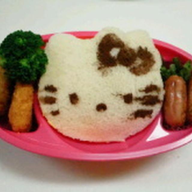 たまごサンドランチ!!  ★★ 飾り巻き寿司 5月レッスン バラ 梅の花