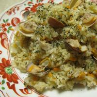 あさりバジルご飯(レシピ)