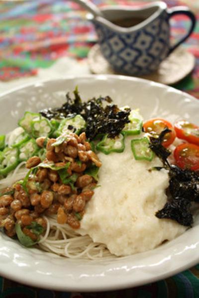 冷たい麺2種 美味福々も冷やし中華はじめました♪