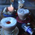 スパイス大使★ バレンタインデーのホットカクテル スパイシーで甘い  チョコレート×オールスパイスとミントの二層×ブランデー