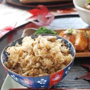【印刷用】塩昆布とツナとキノコの炊き込みご飯