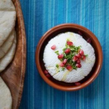 レバノン料理☆ラブネ(塩ヨーグルト)