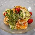乾物でイタリアン♡簡単!ヘルシー♡崩し豆腐とわかめのサラダ