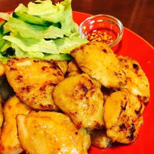 鶏胸肉のマヨソテー
