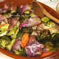 野菜のオーブンハーブ焼きバーニャカウダ風