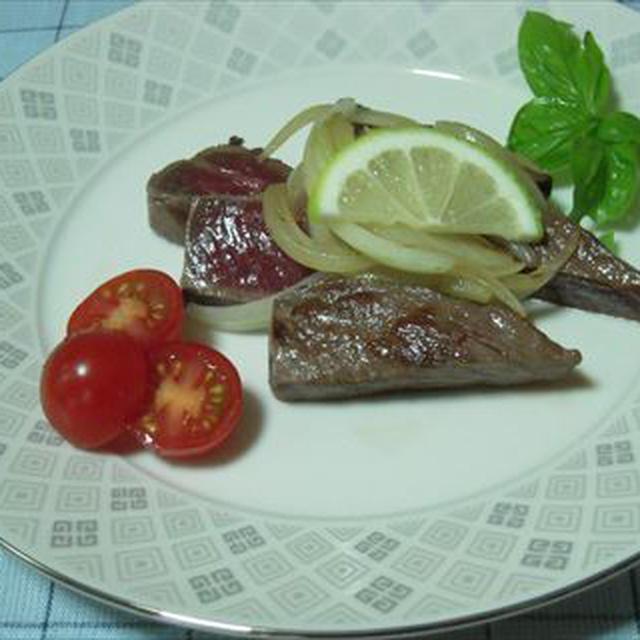 イチボ肉のステーキ
