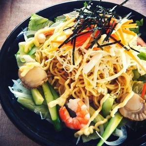 北海道名物「ラーメンサラダ」を作ってみよう!