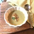 下仁田ネギと牡蠣の和風スープ
