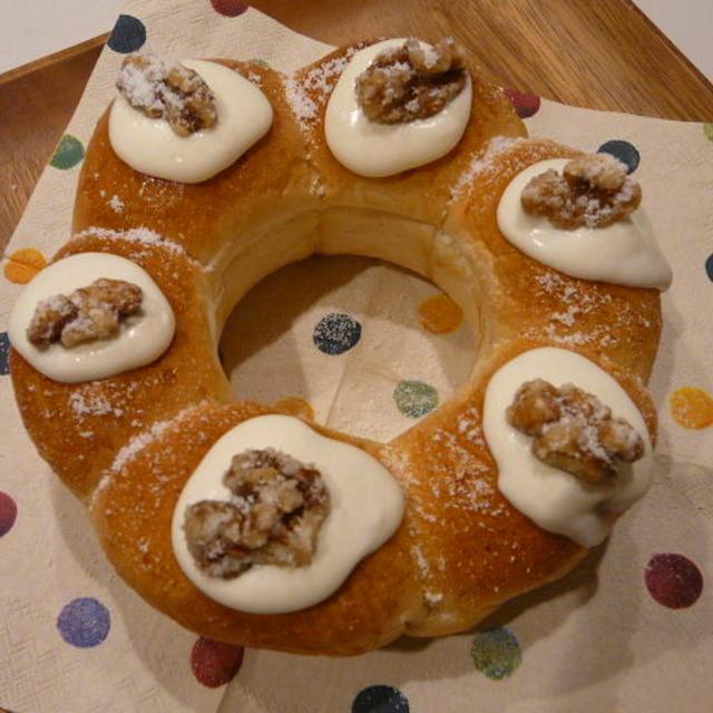 クルミのプラリネ・シナモン風味DEちぎりパン
