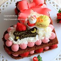 私のお気に入りクリスマスケーキ