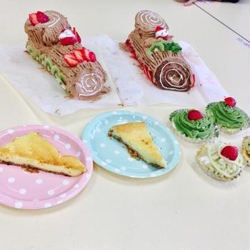 調理実習*クリスマスケーキづくり