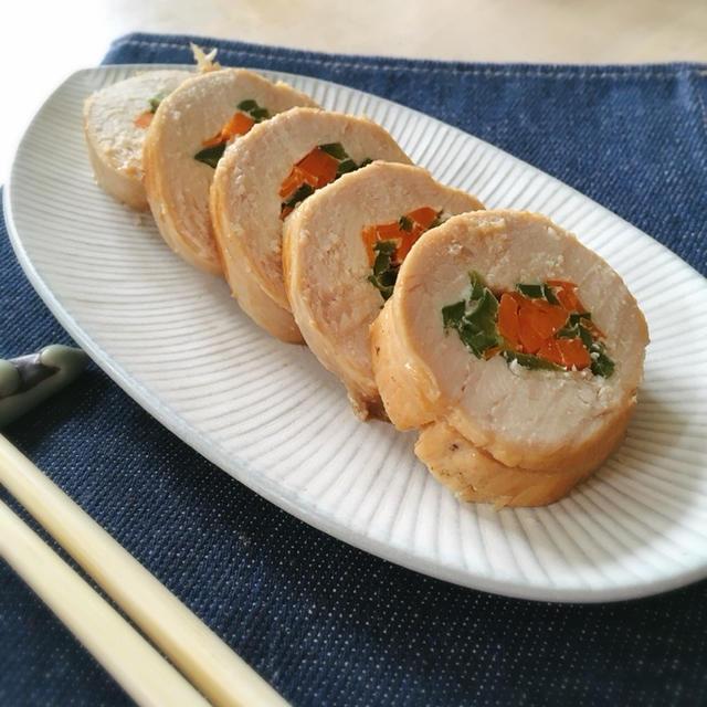 [つくりおき]鶏胸肉の野菜ロール