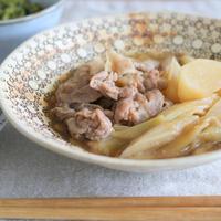 豚肉とカブと葱のすき煮