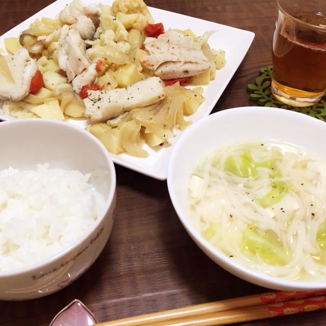 野菜たっぷりday~ダイエット4日目~