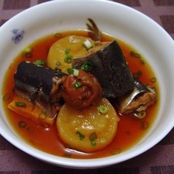 秋刀魚大根(圧力鍋)