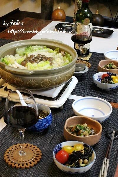 ◆白菜と豚バラのミルフィーユ鍋でおうちごは♪~ゆるやか糖質制限中♪