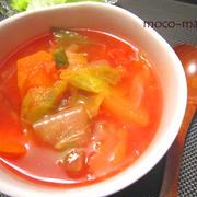 冬のぷっくり対策!!燃焼ダイエットスープ