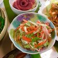 白菜がみずみずしい❤︎白菜とカニカマのコールスロー風