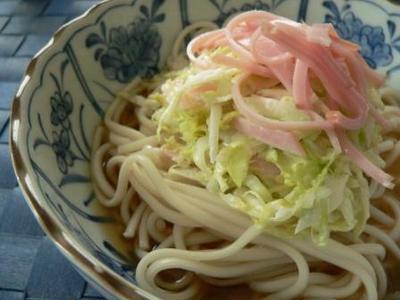*コールスロー麺*