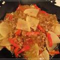 くずきりと大根の中華風炒め煮
