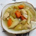 ブーケガルニで絶品♪鶏野菜ポトフ