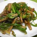 Vegan♪~高野豆腐で青椒肉絲