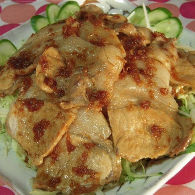 豚肉の生姜焼き