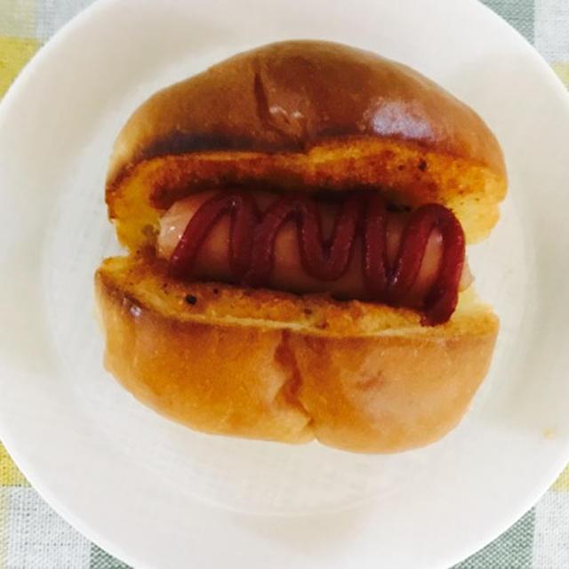おやつにぴったり!ポテトーストでプチホットドッグ