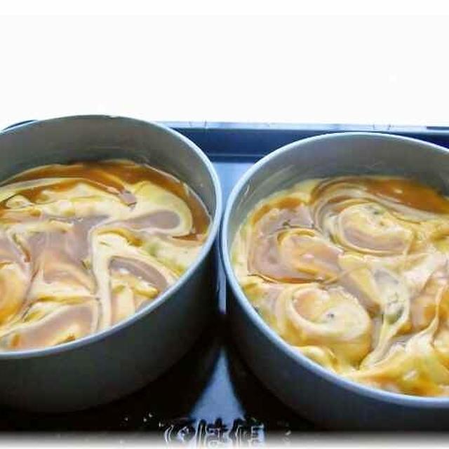 ピーナツクリームのくるみとレーズンのケーキ レシピ