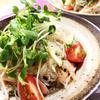 香菜たっぷり!タイ風春雨サラダ