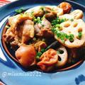 あっさり煮物!鶏肉と蓮根の梅煮 by Misuzuさん
