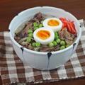 牛肉が2倍美味しくなる 華やか3色の舞茸牛丼の作り方とコツ
