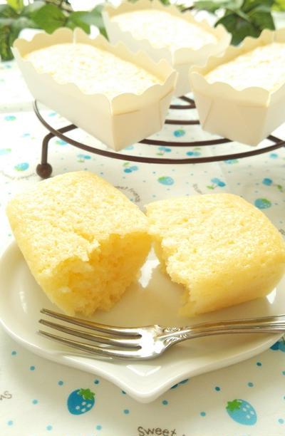 ヨーグルト 水切り不要 カップケーキ