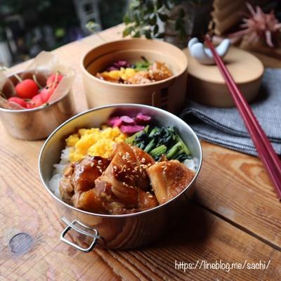 満腹派の必需品!「丼型お弁当箱」はギッシリ詰まってちゃっかりおしゃれ♩の画像