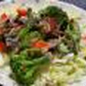 納豆とオクラのしそ梅サラダ