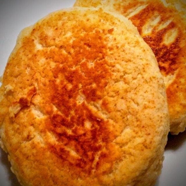 ホワイトソルガムのお菓子ミックス粉でパンケーキ