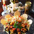 我が家の三ツ星レシピ ムール貝のエスカリバーダ焼き チャウダーパスタ by 青山 金魚さん