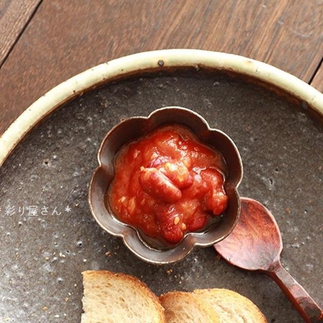 豆とベーコンのトマト煮