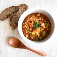 かぶとお豆のトマト煮込み