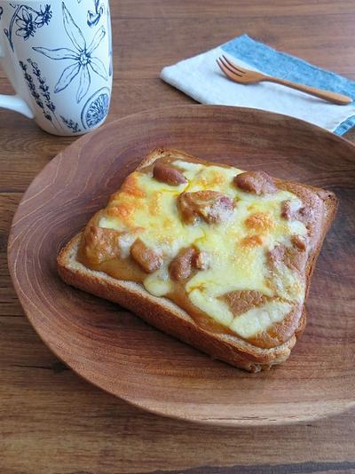 カレーチーズトースト♪