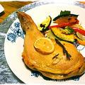 中級■フライパン de 骨付き鶏モモ肉のローストチキンと野菜ソテー■ TVご紹介レシピ♪クリスマス