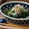 ゴーヤともやしの海藻ツナサラダ