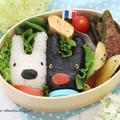 リサとガスパールのお弁当*キャラ弁【高速動画あり】