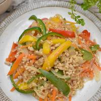 簡単!鶏ひき肉のチャプチェ・レシピ 14年目の結婚記念日