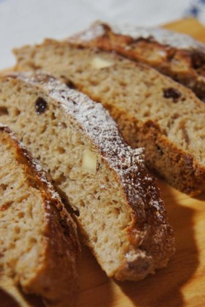 Rye and Miso Bread、黒豆チーズ、サーモンスフレでおうちビストロ開店