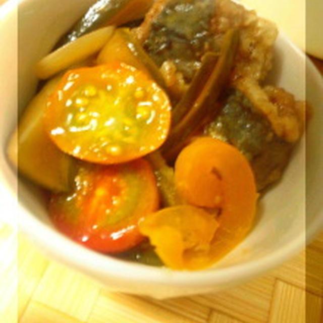 夏野菜で☆小あじの南蛮漬け(レシピあり)