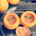 【親子料理】皮ごと!簡単お洒落グレープフルーツゼリー